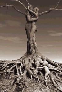 每日一句经典:一棵树要长得更高,接受更多的光明,那么它的根就必须更深入黑暗。